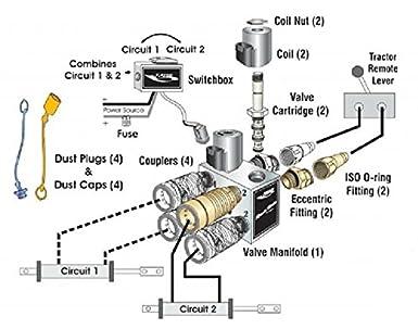 amazon com fasse iso remote master hydraulic multiplier valve kit amazon com fasse iso remote master hydraulic multiplier valve kit 700 1510 industrial scientific