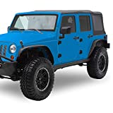 YITAMOTOR Steel Fender Flares Kit Compatible for