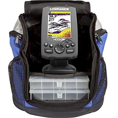 Lowrance Depth Sounders - Lowrance 000-12638-001 Hook-3X All Seas. Pack Sonar 83/200 XDucer Fishfinder