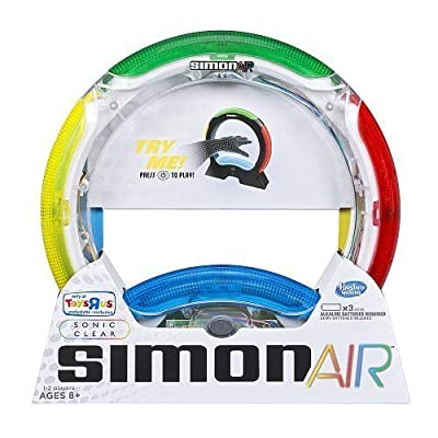 Simon Air Sonic Clear Exclusive See Through Limited Edition: Toys & Games