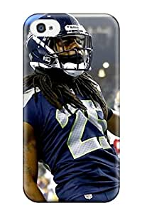 Forever Collectibles Seattleeahawks Hard Snap-on Iphone 4/4s Case