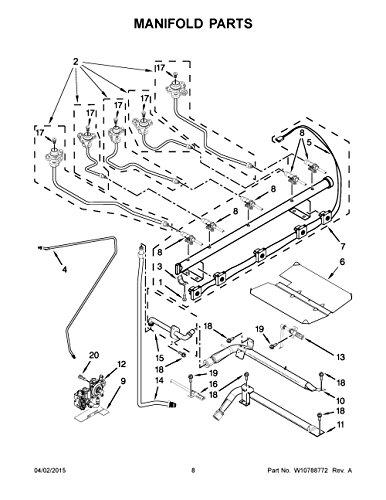 Whirlpool W10919226 Range Gas Valve and Regulator Assembly Genuine Original Equipment Manufacturer (OEM) Part ()
