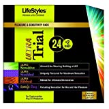 LifeStyles Ultra Trial Pack with Muse Ring Massager - 6.8 Ounce