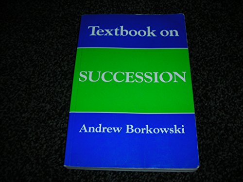 Textbook on Succession