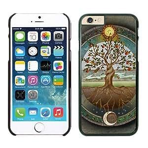 Fantasy art hard case for apple iPhone6plus 5.5 ''case(black)