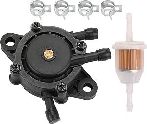 Coolwind Fuel Pump for Kawasaki FH381V FH451V FH500V FH580V FH661V FD731V with 49019-7001 Fuel Filter