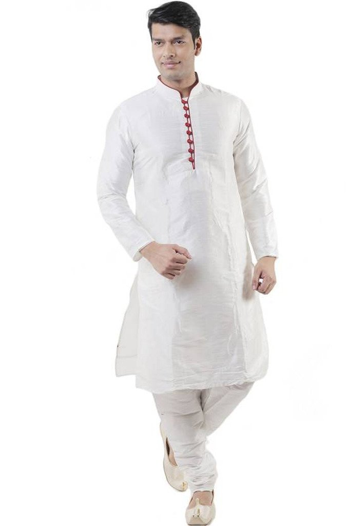 Larwa Men's Festive, Wedding Kurta=Pyjami Set