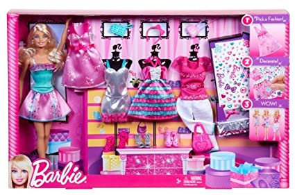 Buy Barbie Barbie Fashion Set Online At Low Prices In India Amazon In