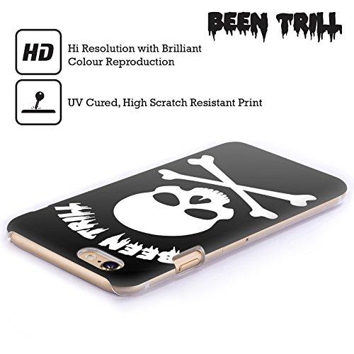 Official Been Trill White Cross Skeleton Skulls Hard Back Case for Apple iPhone 3G / 3GS