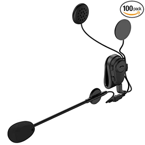 Amazon Com Bluetooth Motorcycle Helmet Headset With Microphone
