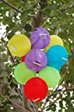 Solaration 2004 Solar Party Decorations Fairy Lights with 10 Color Lanterns