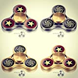 Fidget Spinner - HIGH SPEED Metal Ultra Durable Tri Hand Spinner EDC Fidget Toy Fingertip Gyro for Increased Focus, Stress Relief, ADHD, Autism, and Anxiety by SPINZYP - Yin Yang