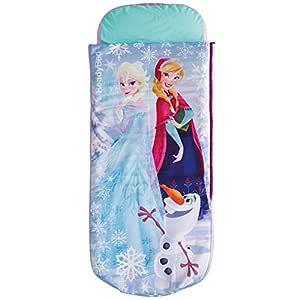 Disney Frozen ReadyBed - Saco de Dormir y Cama de Matrimonio
