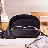 NoCry Storage Case for Safety Glasses with Felt