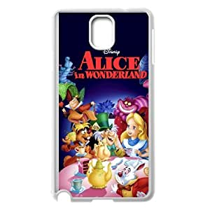 Samsung Galaxy Note 3 Cell Phone Case White Alice in Wonderland Character Alice as a gift H4094970