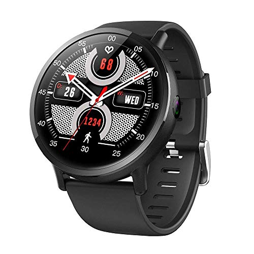LWNGGE Smart Watches Fitness Trackers Watch Smartwatch Band Heart Rate Monitor 4G Hd Big Screen 8 Million Pixel…
