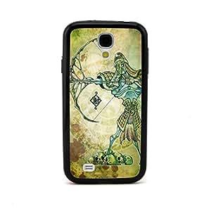 CaseCityLiu - Archer Chinese Zombie Myth 3D Design Black Bumper Plastic+TPU Case Cover for Samsung Galaxy S4 SIV I9500