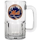 MLB New York Mets 20-Ounce Root Beer Style Mug - Primary Logo