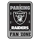NFL Oakland Raiders Plastic Parking Sign