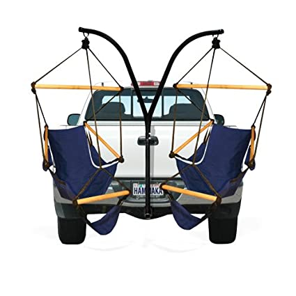 Charmant Hammaka Trailer Hitch Stand And Cradle Chairs Combo   Blue
