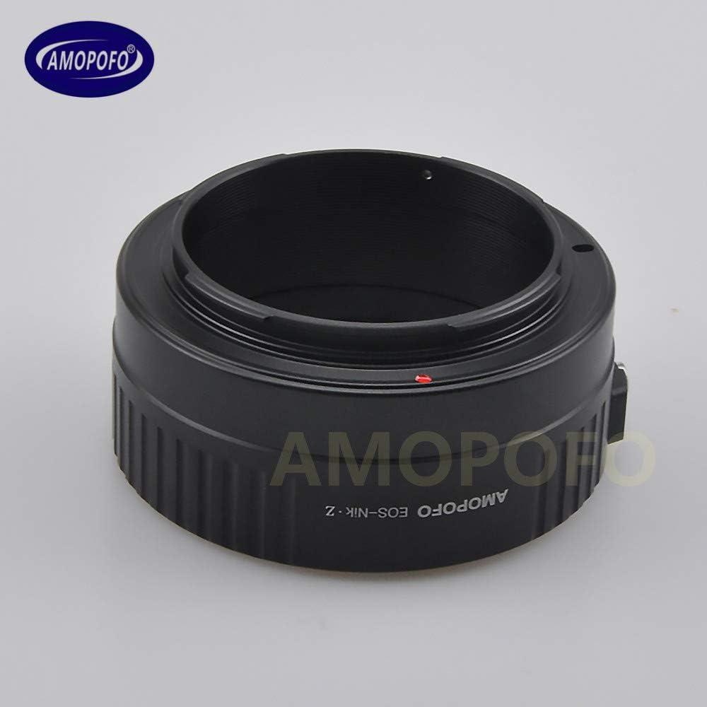 Canon EOS Lens to for Nikon Z Full Frame Mirrorless Z6 Z7 Camera EOS to Nikon z Adapter