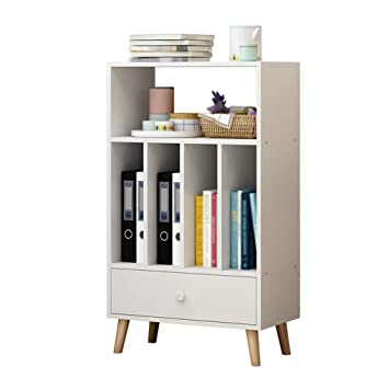 Anna Display Shelves TH Northern Europe Vertical Bookshelf Landing Bookcase Simple Open Storage Rack Shelf