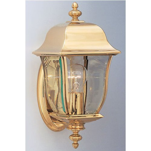 Designers-Fountain-1532-PVD-PB-1-Light-6-Wall-Lantern-Solid-Brass-PVD-from-the