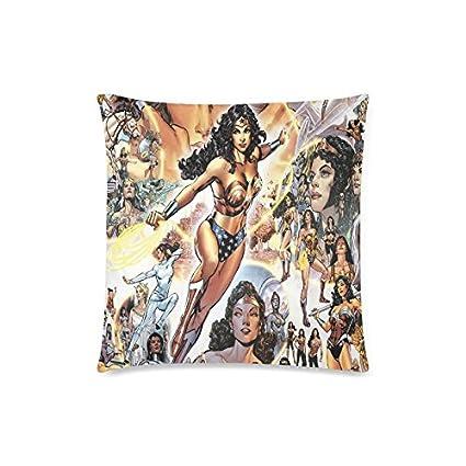 """Wonder Woman Custom ropa de cama fundas de almohada manta funda de almohada 18 """""""
