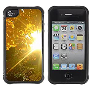 """Hypernova Defender Series TPU protection Cas Case Coque pour Apple iPhone 4 / iPhone 4S [Sunset Beautiful Nature 83""""]"""