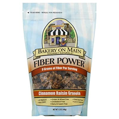Fiber Power Cinnamon Rasin Granola 12 Ounces (Case of 6)