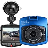 HK Dash Cam for Cars with Night Vision + Parking Mode G-sensor DVR Vehicle Camera Recorder 2.4 Full HD 1080P GT300