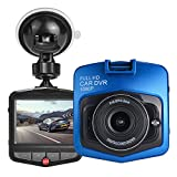 HK Dash Cam for Cars with Night Vision + Parking Mode G-sensor DVR Vehicle Camera Recorder 2.4'' Full HD 1080P GT300