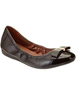 9f424106e Amazon.com   Cole Haan Women's Alice Bow Skimmer Pointed Toe Flat ...