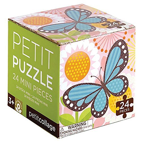 Petit Collage PZ-BUTTERFLY Butterfly Petit Puzzle by Petit Collage ()