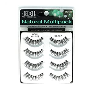 ARDELL Professional Natural Multipack – Demi Wispies Black by Ardell, Pack of 3