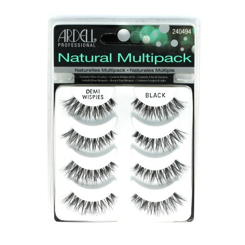 ARDELL Professional Natural Multipack - Demi Wispies Black by Ardell, Pack of 3