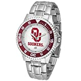 Oklahoma Sooners NCAA ''Competitor'' Mens Watch (Metal Band)