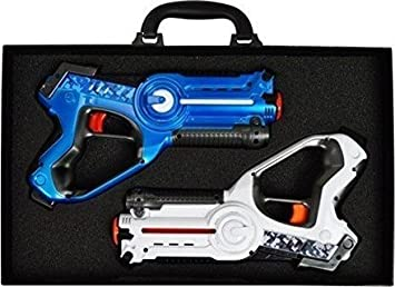 Laser Tag Game For Kids | Laser Tag Set For kids Multiplayer Pack | The  Laser Quest Tag Set Comes With Two Laser Tag Blasters | FULL Money Back