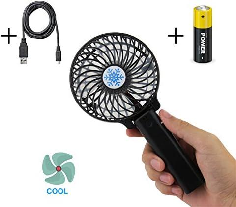 USB ventilador fuerte y silencioso eléctrica ventilador de mano ...