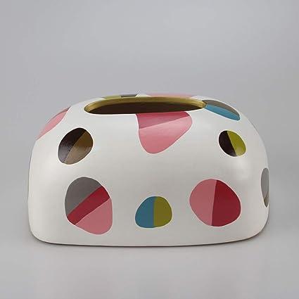 Caja de pañuelos de papel higiénico decorativo simple caja de papel higiénico sala de estar casera