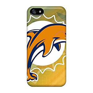 New Cute Funny Miami Dolphins Cases Covers/ Iphone 5/5s Cases Covers