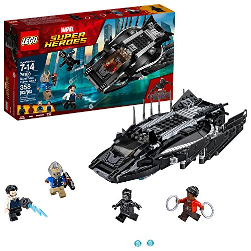 LEGO Marvel Super Heroes Royal Talon Fighter Attack 76100 Building Kit (358 Piece)]()