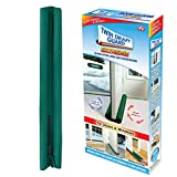 Twin Draft Guard Extreme in Green - Energy Saving Under Door Draft Stopper