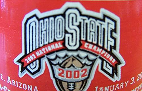 2002 National Champions Ohio State Commemorative Coca Cola Full Unopened Bottle 8 Oz