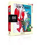 New York Puzzle Company - New Yorker Seaside Café - 500 Piece Jigsaw Puzzle
