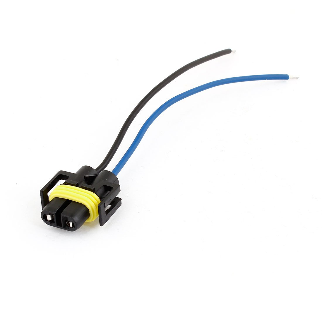 51BaCEv3NUL._SL1100_ amazon com uxcell auto car 2 wire headlight h11 socket harness  at webbmarketing.co