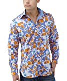 Joe Browns Men's Vegas Abstract Shirt, Multi, Small