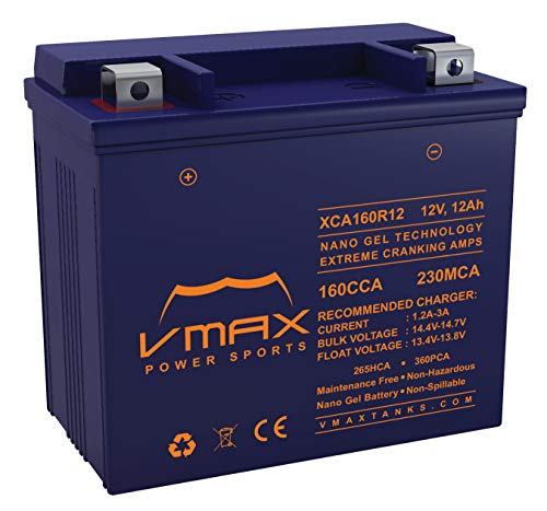 VMAX XTR4D-200 Battery Compatible with Aerial Access Platforms 200ah AGM SLA 12V Battery
