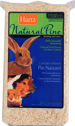 Hartz Natural Pine Small Animal Cage Bedding & (Living Natural Pine Bedding)