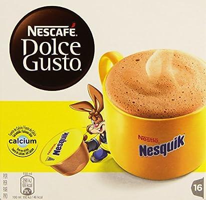 Nescafé Dolce Gusto - Nesquik - Pack 3 x 16 cápsulas: Amazon.es ...